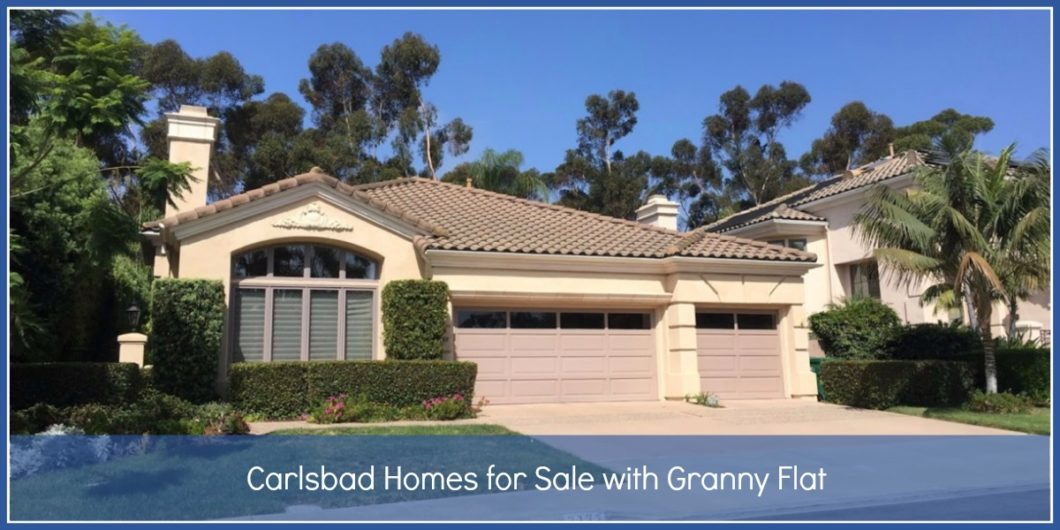 Carlsbad Homes with Granny Flat