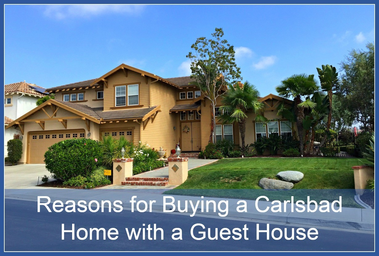Carlsbad home with a guest house