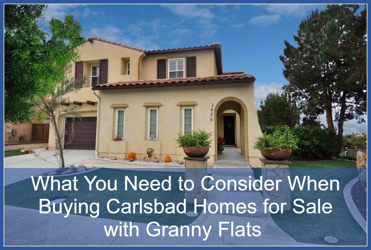 Real estate listings in Carlsbad