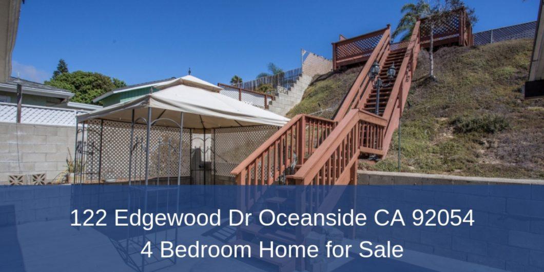 Outstanding 122 Edgewood Dr Oceanside Ca 92054 4 Bedroom Home For Sale Interior Design Ideas Jittwwsoteloinfo